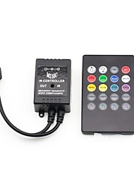 20 Keys Music IR Remote Controller for RGB LED Strip Light (12V 3X2A)