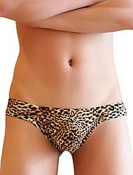 Men's Sexy G-Strings Leopard Grain Men's Underwear