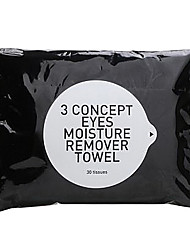 3 Concept Eyes  Moisture Remover Towel 30sheet