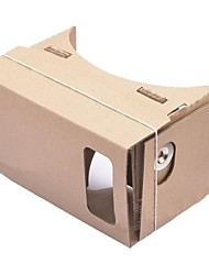 DIY Cardboard Virtual Reality 3D Glasses for iPhone 5S/ Samsung Galaxy S4 mini / S3 mini / Nokia / LG / MOTO