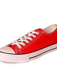 pattini delle donne di conforto tacco piatto scarpe da ginnastica di moda tela scarpe più colori disponibili