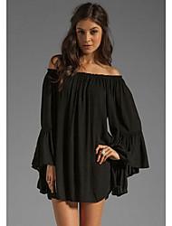 GGN Women's Beach/Casual Dresses (Chiffon)