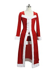 Fate Stay Night Saber Lily Red Christmas Costume