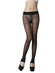 Dnyh® Women's sexy low waist T-crotch stirrup pantyhose