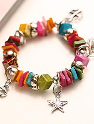 temperamento moda pulseira cor de contraste elegância strass ace-k das mulheres