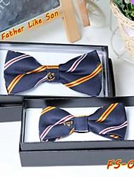 Les cravates de garçon tel père, tel fils série