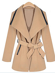 Women's Fashion Winter All Match Tweed Coat