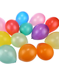 pearlized runden Ballons 100pcs