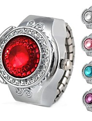 Women's Half Circle Alloy Analog Quartz Ring Watch (Assorted Colors) Cool Watches Unique Watches