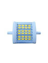 7W R7S Projecteurs LED Encastrée Moderne 24 SMD 5630 770 lm Blanc Chaud Décorative AC 85-265 V