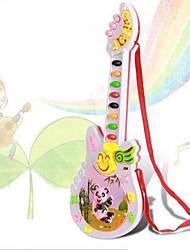 juguetes de los niños de dibujos animados de la guitarra (colores aleatorios)