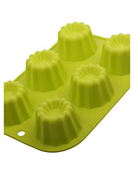 Liuhe a One-piece Silicone Cake Mould(More Colors)