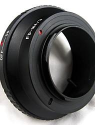 lentille de fd pour micro 4/3 m adaptateur d'objectif M43 pour g1 g2 gf1 EP1 EP2 EPL1