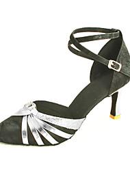 velluto personalizzato e spumanti scintillio scarpe da ballo di performance (più colori)