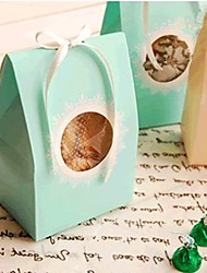 Lace Cardboard Favor Bags For Wedding  Set of 24(More colors)