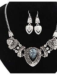 Jewelry-Necklaces / Earrings(Alloy)Wedding / Party / Daily Wedding Gifts