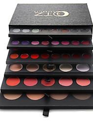 pro de haute qualité 134 couleurs fard à paupières / brillant à lèvres / blush / fond de teint palette ensemble cosmétique