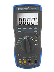 Auto Range True RMS Digital Multimeter Multifunctional Electrical Instrument HoldPeak HP-760D