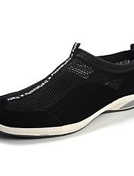 Scarpe da uomo Tempo libero/Casual Tessuto Sneakers alla moda Nero/Blu/Grigio