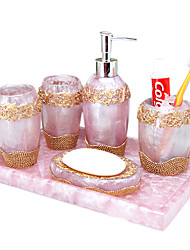 Bath Accessory Set,European Set-Bathroom Set 5 Piece