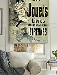 Spanish Travel Ads (Vintage Art) Posters Roller Shade