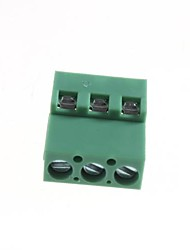 3-Pin Cable Wire Terminal Connectors - 5.08mm (10-Piece Pack)