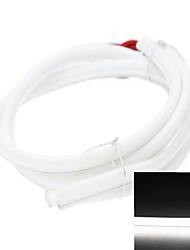 2 x LED Bande 80cm 79x3014smd 5.5W blanc 200-240lm 5500-6000K DC12V IP65 lumières décoratives Feux de jour