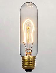 40w e27 retrò industria stile provetta lampadina a incandescenza