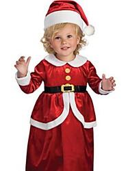 lil miss père noël enfants de costumes de Noël
