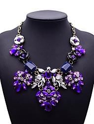 lujo collar de cristal de la moda de las mujeres de la eternidad
