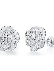 Aimei das mulheres 925 moda prata elegante brincos