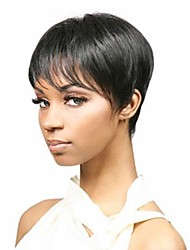 Capless Top Grade Synthetic Black  Hairstyle Wig for Women