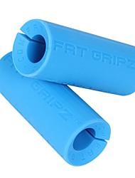 kylinsport pellicule de silicone gras extension de l'épaule enveloppement poignée barre d'haltère de gym main épaississement