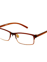[Free Lenses] Plastic Rectangle Full-Rim Classic Reading Glasses