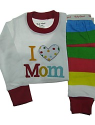 Boy's Cotton Clothing Set , Fall Long Sleeve