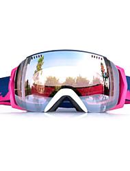 moldura de prata óculos de neve esqui sensor de brancos Basto