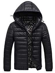 MRPK Men's Fashion Casual Warm Fitted Coat