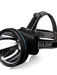 Skyfire T100 2 Modes Waterproof Rechargeable Headlamp(1000LM,2x18650,Black,Yellow Light)