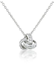 Women's Cubic Zirconia Necklace Gift Cubic Zirconia