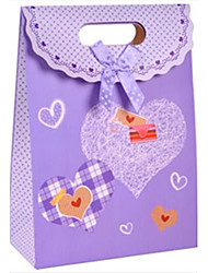 Bowknot Cardboard Favor Bags For Wedding  Set of 12(More Colors)