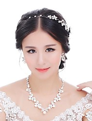 Women's Alloy Jewelry Set Pearl