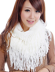 Celebrities Solid Color Thermal Scarf