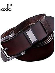 Hombre Hebilla / Cinturón de Cintura Vintage / Fiesta / Trabajo / Casual Todas las Temporadas