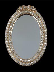 Materiale Fai da te accessori in lega 1pcs specchio perla incastonata a mano