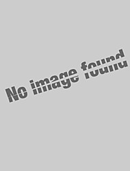 Moderne Glaspendelleuchte in Round Red Blasen-Entwurf