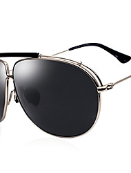 Polarized Men's Aviator Alloy Retro Driving Sunglasses