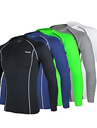ARSUXEO Cycling Tops / Base Layers / Compression Clothing / Jerseys / Tights Men's BikeBreathable / Quick Dry / Anatomic Design /