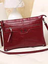 KENAH  Personality High Quality Retro PU Leather One Shoulder/Crossbody Bag
