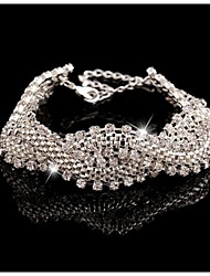 Noble Luxurious Rhinestone Cuff Bracelets