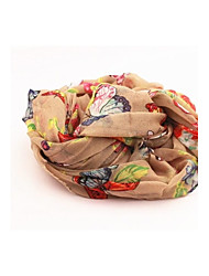 Women's Butterfly Is Flying Lady Romantic Voile Scarf